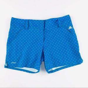 Adidas adizero blue golf shorts
